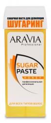 Aravia Professional - Сахарная паста для депиляции в картридже Медовая очень мягкой консистенции, 150 г