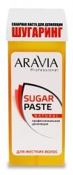 Aravia Professional - Сахарная паста для депиляции в картридже Натуральная мягкой консистенции, 150 г