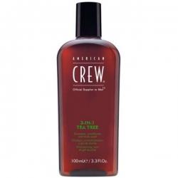 American Crew Tea Tree 3-in-1 - Средство для волос Чайное дерево, 100 мл