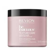 Revlon Professional Be Fabulous Smooth Mask   - Дисциплинирующая маска с технологией C. R. E. A. M., 500 мл