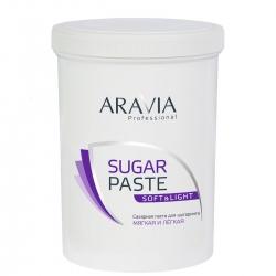 "ARAVIA Professional - Сахарная паста для шугаринга ""Мягкая и лёгкая"", 1500 г"