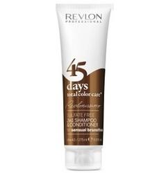 Revlon Professional Revlonissimo Color Care Shampoo&Conditioner Brunettes - Шампунь-кондиционер для шоколадных оттенков, 275 мл
