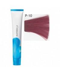 Lebel Materia µ Лайфер - Краска для волос восстанавливающая P10 - яркий блондин розовый, 80 гр