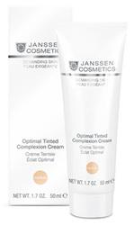 Janssen 0011 Optimal Tinted Complexion Cream Medium - Дневной крем Оптимал Комплекс (SPF 10), 50 мл