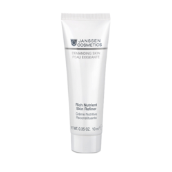 Janssen 009.0010 Rich Nutrient Skin Refiner - Обогащенный дневной питательный крем (SPF 15), 10 мл