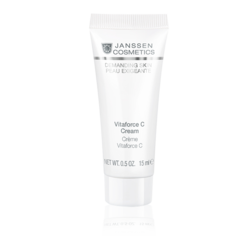 Janssen 009.0022 Vitaforce C Cream - Регенерирующий крем с витамином С, 10 мл