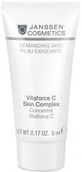 Janssen 009.0031 Vitaforce C Skin Complex - Регенерирующий концентрат с витамином С, 5 мл