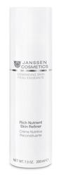 Janssen 0010P Demanding Skin Rich Nutrient Skin Refiner - Обогащенный дневной питательный крем (SPF-15), 150 мл