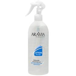 Aravia Professional - Мицеллярный лосьон для подготовки кожи к депиляции, 500 мл