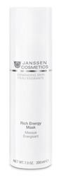 Janssen 0041P Demanding Skin Rich Energy Mask - Энергонасыщающая регенерирующая маска, 200 мл