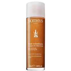 Sothys Hair And Body Shimmering Oil - Мерцающее масло для тела и волос, 100 мл