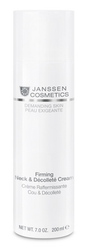 Janssen 0071P Demanding Skin Firming Face, Neck & Decollete Cream - Укрепляющий крем для кожи лица, шеи и декольте, 150 мл