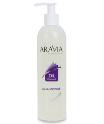 Aravia Professional - Масло после депиляции для чувствительной кожи с экстрактом лаванды, 300 мл