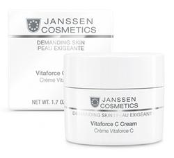 Janssen 0022 Vitaforce C Cream - Регенерирующий крем с витамином C, 50 мл
