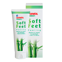 Gehwol Fusskraft Scrub Soft Feet - Пилинг Бамбук и жожоба, 125 мл
