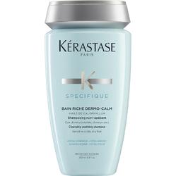 Kerastase Specifique Bain Riche Dermo-Calm - Шампунь-ванна для чувствительной кожи головы и сухих волос, 250 мл