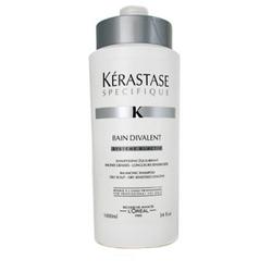 Specifique Bain Gommage For Dry Hair - Отшелушивающий шампунь-ванна от перхоти для сухих волос, 1000 мл