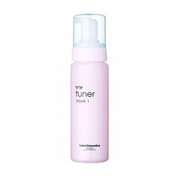 Lebel Trie Tuner Foam 1 - Воздушная пена-мусс для укладки волос, 200 мл