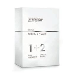 La Biosthetique Action 2 Phases - Набор «Комплексный уход для восстановления волос», 50 мл+100 мл
