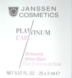 Janssen 1290P Brilliance Shine Elixir - Эликисир для сияния кожи, 25 х 2 мл