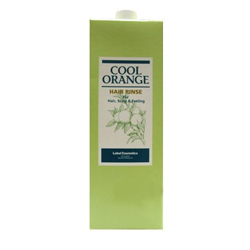 Lebel Cool Orange Hair Rinse - Бальзам-ополаскиватель «Холодный Апельсин», 1600 мл