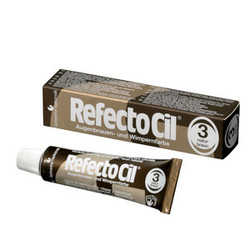 RefectoCil - Краска для ресниц (Коричневая) №3, 15 мл