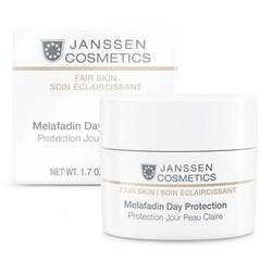 Janssen 3310 Fair Skin Melafadin Day Protection - Осветляющий дневной крем (SPF 20), 50 мл