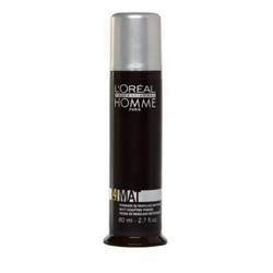 L'Oreal Professionnel Homme - Матирующая крем-паста для укладки волос, 80 мл