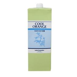 Lebel Cool Orange Hair Soap Ultra Cool - Шампунь для волос «Ультра Холодный Апельсин», 1600 мл