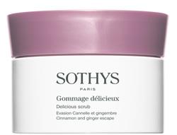 Sothys Delicious Scrub Cinnamon And Ginger Escape - Изысканный скраб для тела с корицей и имбирем, 800 мл
