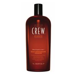 American Crew Daily Moisturizing Shampoo - Шампунь для ежедневного ухода за нормальными и сухими волосами, 1000 мл