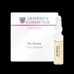 Janssen 1911M Ampoules De-Stress (sensitive skin) - Антистресс (чувствительная кожа), 3 x 2 мл