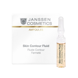 Janssen 1917M Skin Contour Fluid - Anti-age лифтинг-сыворотка в ампулах с пептидами, стимулирующими синтез эластина, 3 х 2 мл