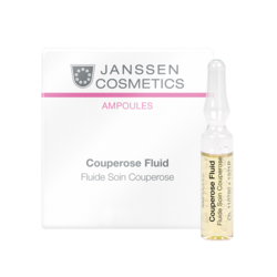 Janssen 1921M Ampoules Аnti-Couperose (couperosed skin) - Антикупероз (куперозная кожа), 3 x 2 мл