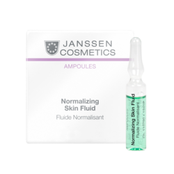 Janssen 1941M Ampoules Normalizing Fluid - Нормализующий концентрат для ухода за жирной кожей, 3 x 2 мл