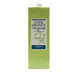 Lebel Cool Orange Hair Soap Super Cool - Шампунь для волос «Супер Холодный Апельсин», 1600 мл