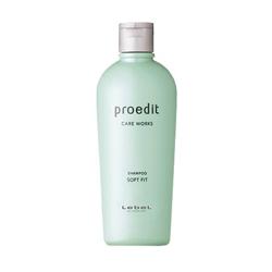 Lebel Proedit Care Works Soft Fit Shampoo - Шампунь для жестких и непослушных волос, 300 мл