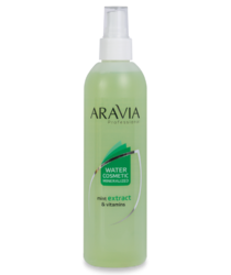 Aravia Professional - Вода косметическая минерализованная с мятой и витаминами, 300 мл