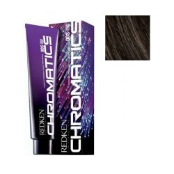 Redken Chromatics - Краска для волос без аммиака Хроматикс 4.03/4NW натуральный/теплый, 60 мл