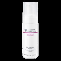 Janssen 2000P Soft Cleansing Mousse - Нежный очищающий мусс, 150 мл