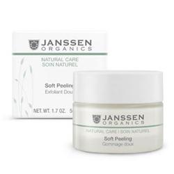 Janssen 907 Organics Soft Peeling - Деликатный пилинг для очищения и выравнивания рельефа кожи, 50 мл