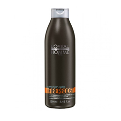 L'Oreal Professionnel Homme Fiberboost Shampoo - Уплотняющий шампунь, 250 м