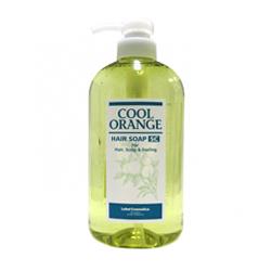 Lebel Cool Orange Hair Soap Super Cool - Шампунь для волос «Супер Холодный Апельсин», 600 мл