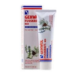 Gehwol Fusskraft Red Dry Rough Skin - Красный бальзам для сухой кожи, 75 мл