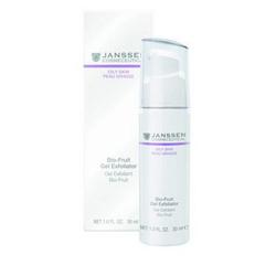Janssen 4407 Oily Skin Bio-Fruit Gel Exfoliator - Биокомплекс с фруктовыми кислотами, 30 мл