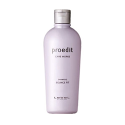 Lebel Proedit Care Works Bounce Fit Shampoo - Шампунь для поврежденных волос, 300 мл