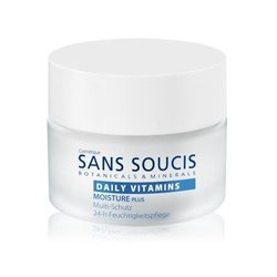 Sans Soucis Daily Vitamins Moisture plus Multi-Protection 24-h Moisture Care- Крем витаминизирующий  увлажняющий мультизащитный для 24-часового ухода, 50 мл