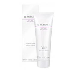 Janssen 4440 Oily Skin Purifying Mask - Себорегулирующая очищающая маска, 75 мл