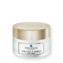 Sans Soucis Caviar & Gold Anti Age Deluxe Eye CARE - Крем-люкс антивозрастной «Икра и Золото» для контура глаз, 15 мл