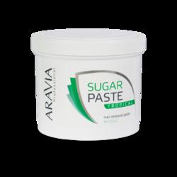Aravia Professional - Сахарная паста для депиляции Тропическая средней консистенции, 750 г